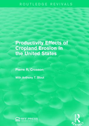 Productivity Effects of Cropland Erosion in the United States book cover