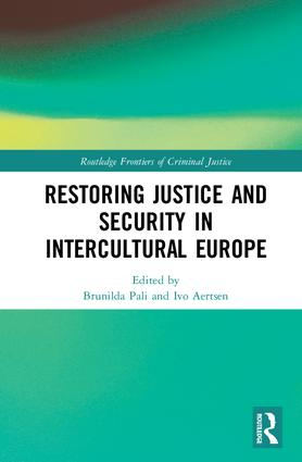 Restoring Justice and Security in Intercultural Europe: 1st Edition (Hardback) book cover