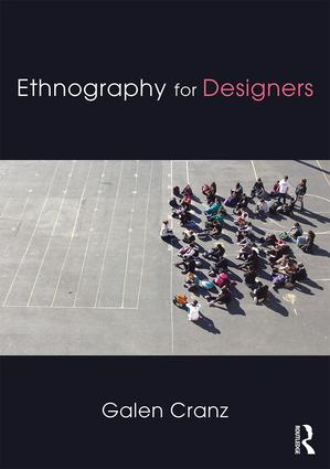 Ethnography for Designers: 1st Edition (Hardback) book cover