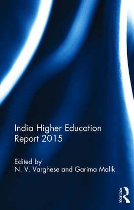India Higher Education Report 2015: 1st Edition (Hardback) book cover