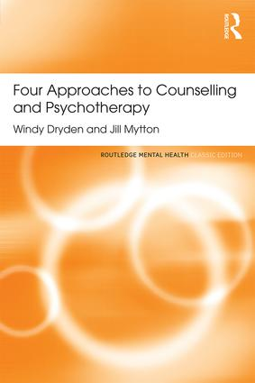 Four Approaches to Counselling and Psychotherapy: 1st Edition (Paperback) book cover