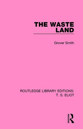 The Waste Land: 1st Edition (Paperback) book cover