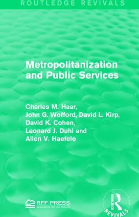 Metropolitanization and Public Services book cover