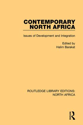 Contemporary North Africa: Issues of Development and Integration, 1st Edition (Paperback) book cover