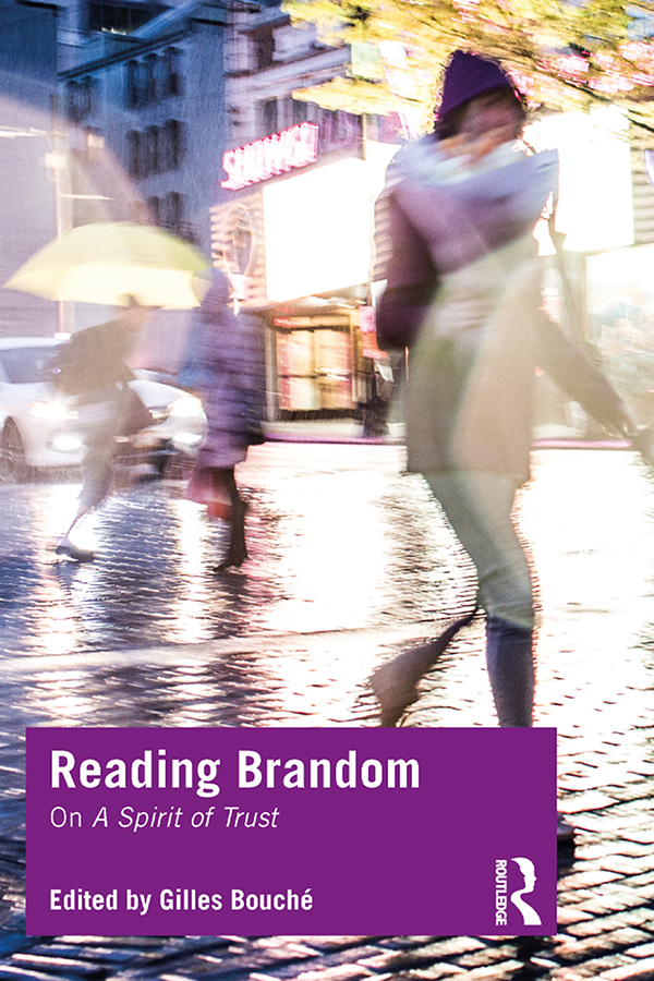 Reading Brandom: On A Spirit of Trust book cover