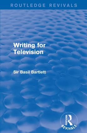 Writing for Television book cover