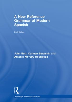 A New Reference Grammar of Modern Spanish book cover