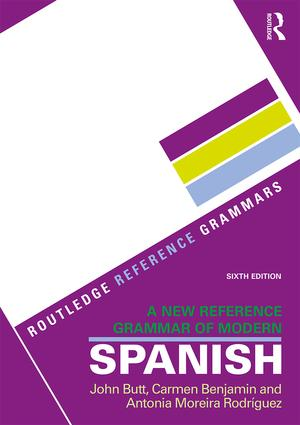 A New Reference Grammar of Modern Spanish: 6th Edition (Paperback) book cover