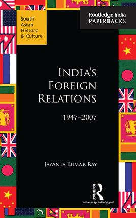 India's Foreign Relations, 1947–2007 book cover