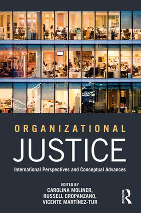 Organizational Justice: International perspectives and conceptual advances (Paperback) book cover