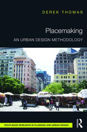 Placemaking: An Urban Design Methodology book cover