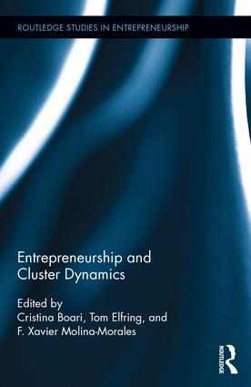 Entrepreneurship and Cluster Dynamics: 1st Edition (Hardback) book cover