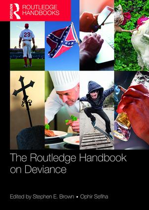 Routledge Handbook on Deviance book cover