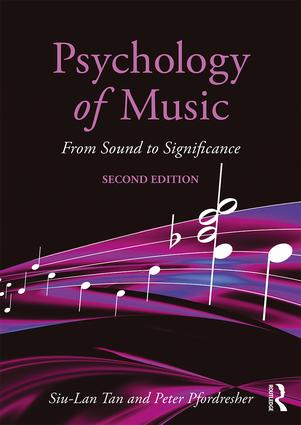 Psychology of Music: From Sound to Significance book cover