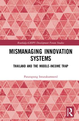Mismanaging Innovation Systems: Thailand and the Middle-income Trap, 1st Edition (Paperback) book cover
