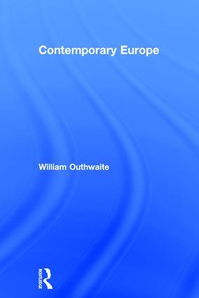 Contemporary Europe book cover