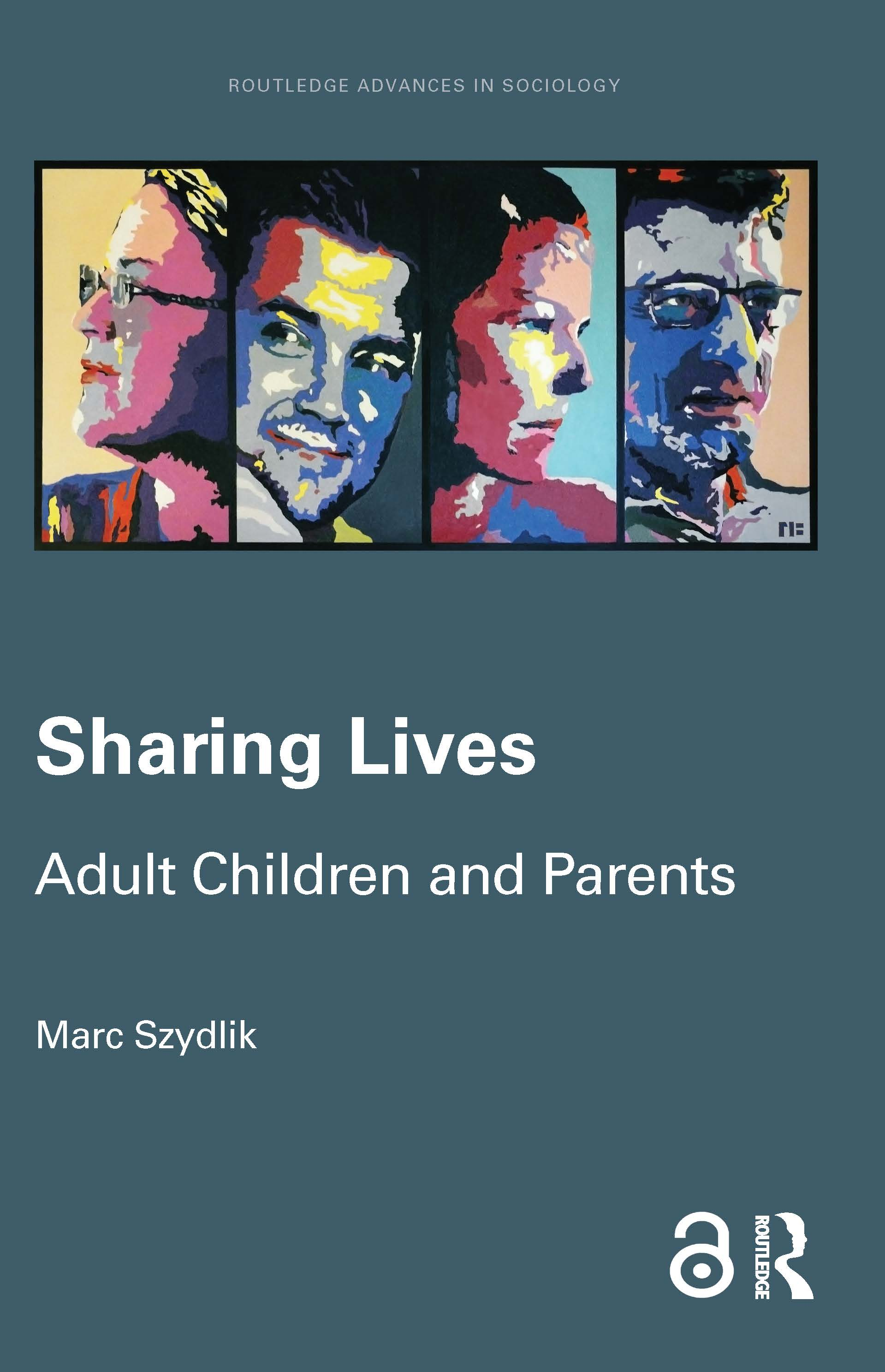 Sharing Lives: Adult Children and Parents, 1st Edition (Hardback) book cover
