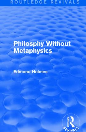 Philosphy Without Metaphysics