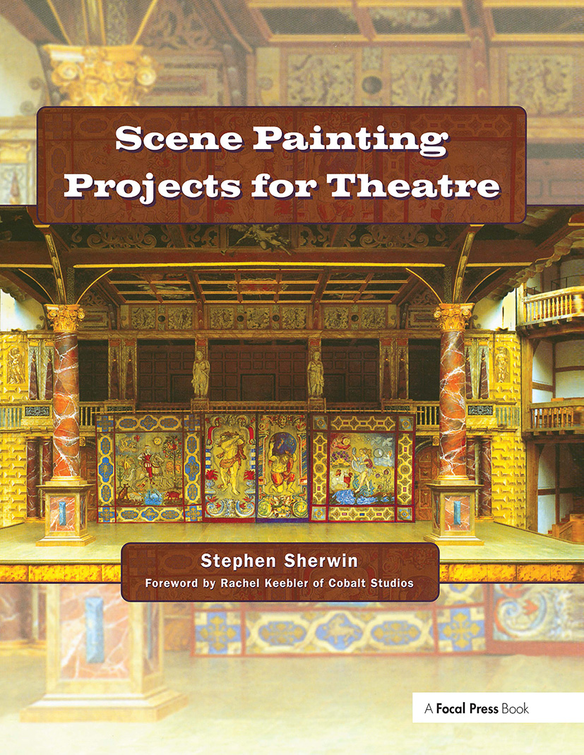 Scene Painting Projects for Theatre: 1st Edition (Hardback) book cover