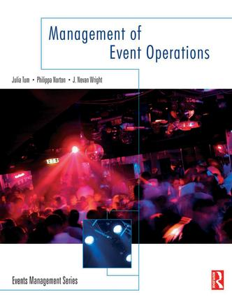 Management of Event Operations: 1st Edition (Hardback) book cover