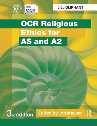 OCR Religious Ethics for AS and A2: 3rd Edition (Hardback) book cover