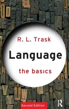Language: The Basics: 2nd Edition (Hardback) book cover