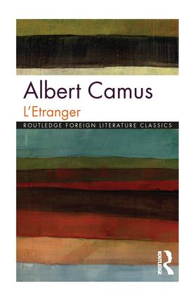 L'Etranger book cover