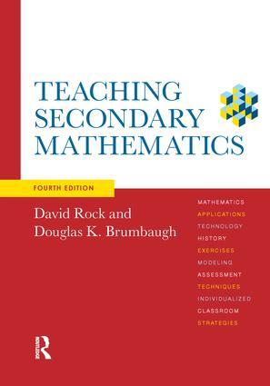 Teaching Secondary Mathematics: 4th Edition (Hardback) book cover
