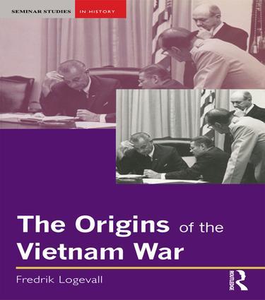 The Origins of the Vietnam War: 1st Edition (Hardback) book cover