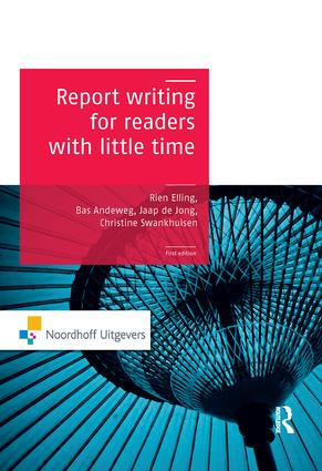 Report Writing for Readers with Little Time (Paperback) book cover
