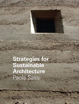 Strategies for Sustainable Architecture: 1st Edition (Hardback) book cover