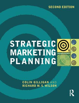 Strategic Marketing Planning: 2nd Edition (Hardback) book cover