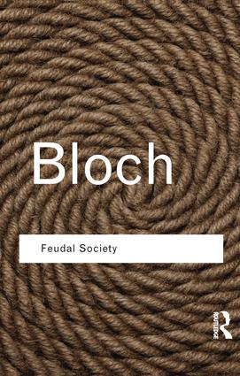 Feudal Society book cover