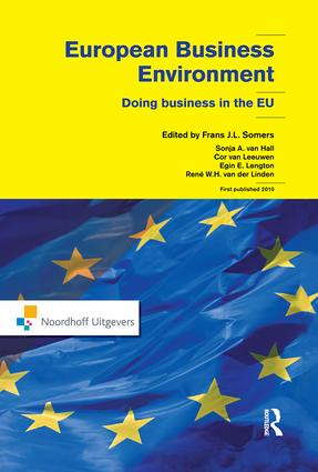 European Business Environment: Doing Business in Europe, 1st Edition (Paperback) book cover