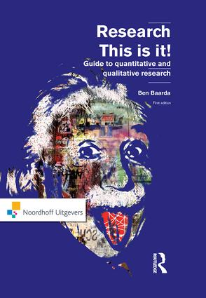Research: This is it!, 1st Edition (Paperback) book cover