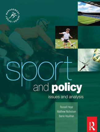 Sport and Policy book cover