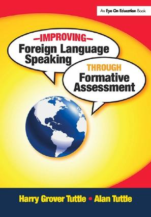 Improving Foreign Language Speaking through Formative Assessment