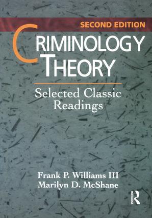 Criminology Theory