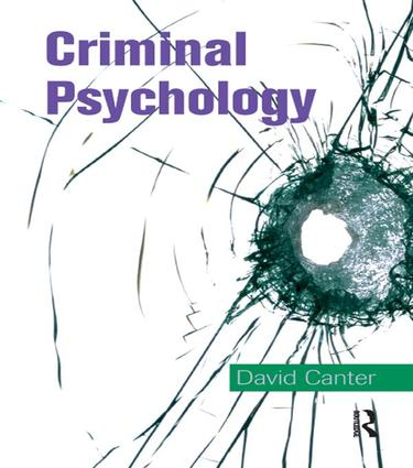 Criminal Psychology: Topics in Applied Psychology book cover