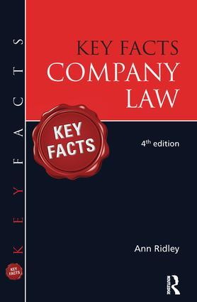 Key Facts Company Law
