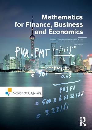Mathematics for Finance, Business and Economics: 1st Edition (Paperback) book cover