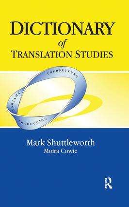 Dictionary of Translation Studies: 1st Edition (Hardback) book cover