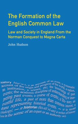 Magna Carta and the Formation of the English Common Law