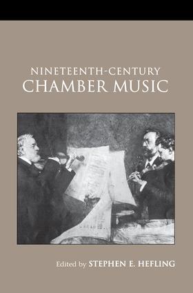 Nineteenth-Century Chamber Music book cover