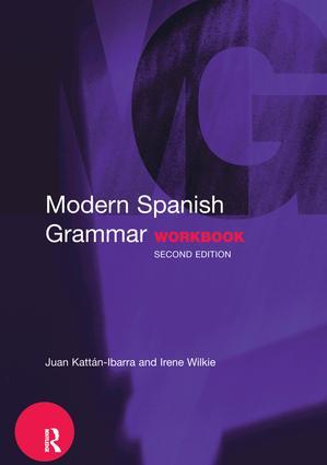 Modern Spanish Grammar Workbook: 2nd Edition (Hardback) book cover
