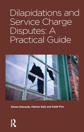 Dilapidations and Service Charge Disputes: 1st Edition (Hardback) book cover