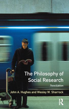 The Philosophy of Social Research: 3rd Edition (Hardback) book cover