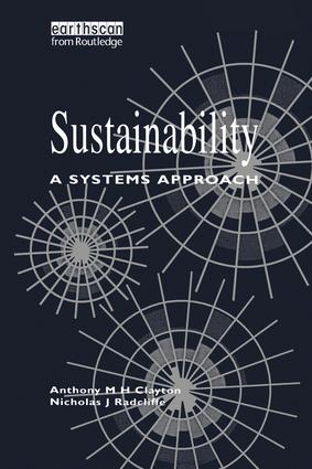 Sustainability: A Systems Approach, 1st Edition (Paperback) book cover
