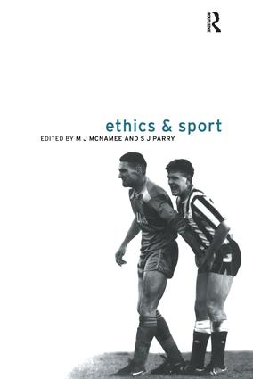 Ethics and Sport: 1st Edition (Hardback) book cover