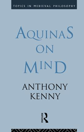 Aquinas on Mind book cover